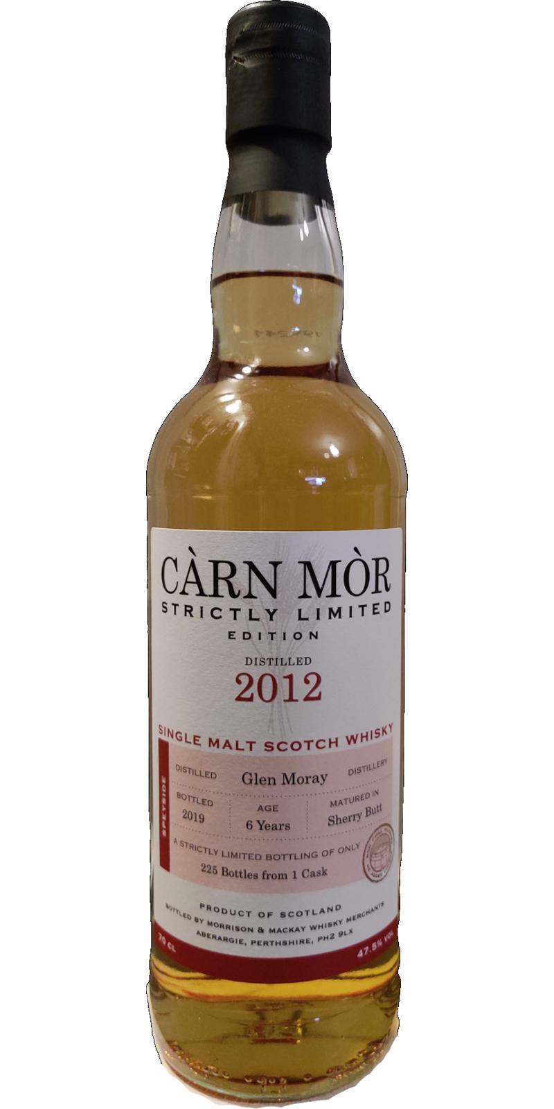 Glen Moray 2012 MMcK