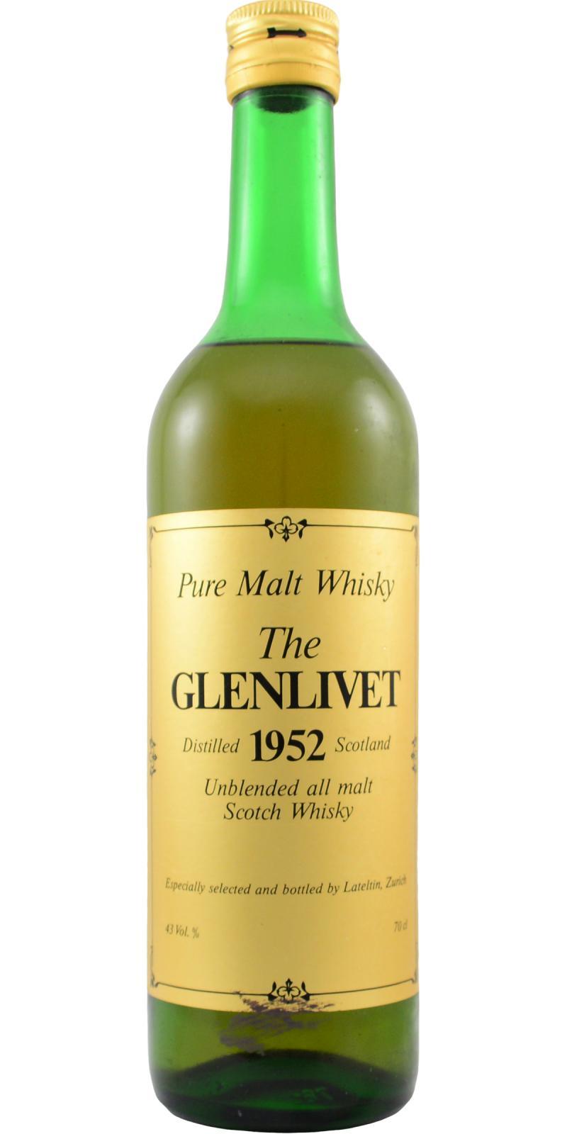 Glenlivet 1952 LTT