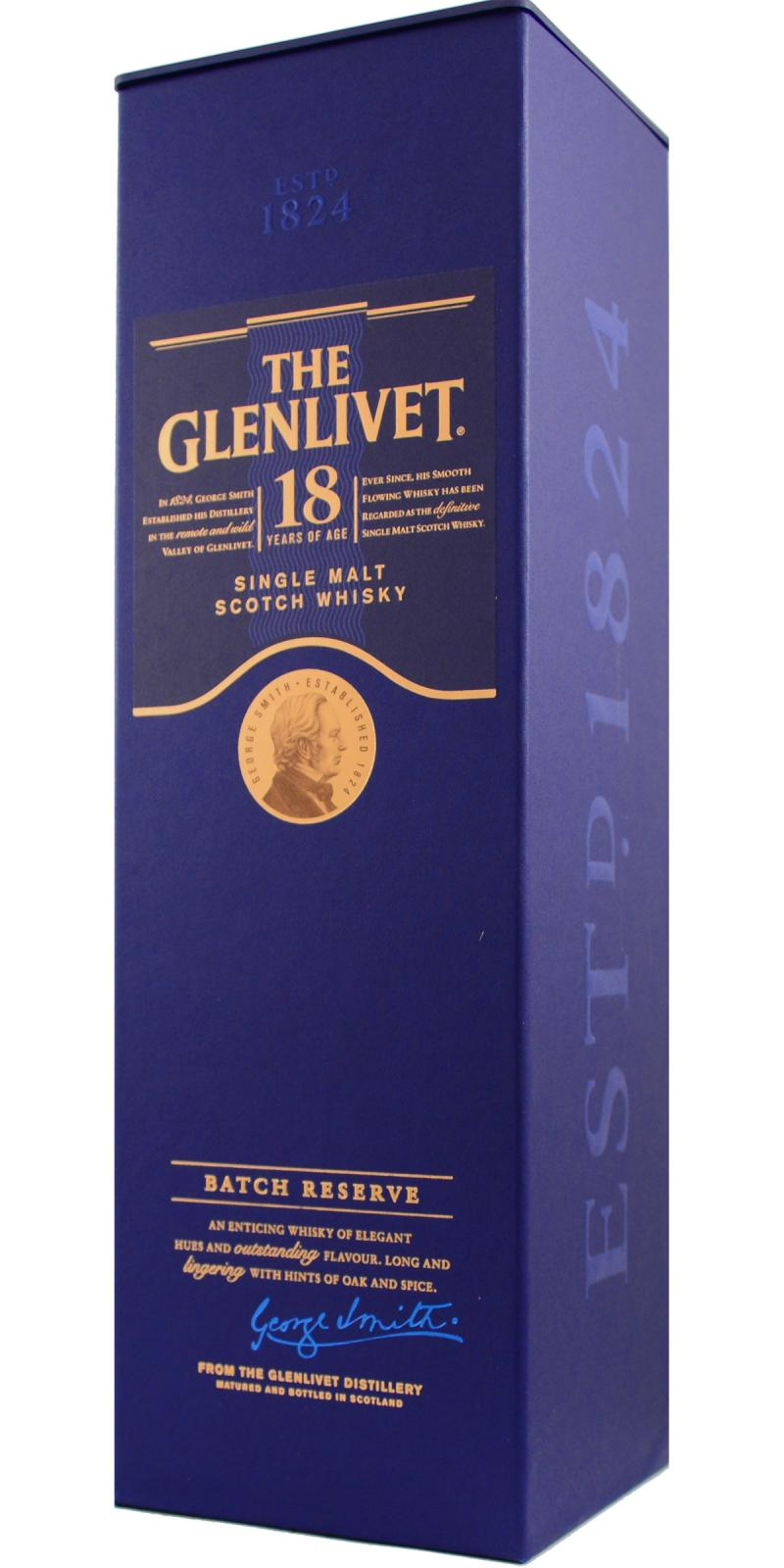 Glenlivet 18-year-old