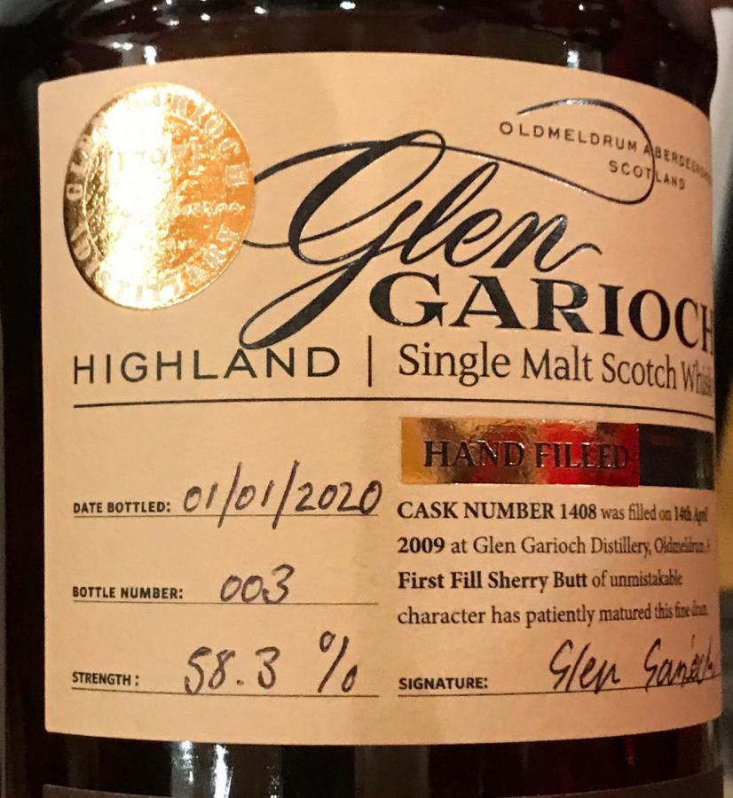 Glen Garioch 2009