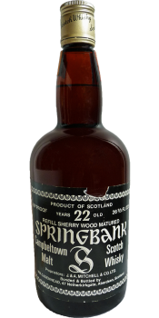 Springbank 22-year-old CA