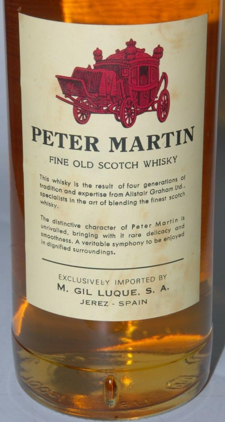 Peter Martin Scotch Whisky