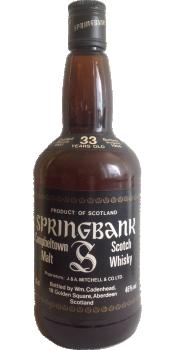 Springbank 1951 CA
