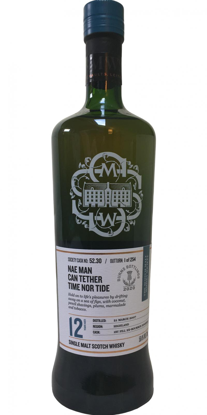 Old Pulteney 2007 SMWS 52.30