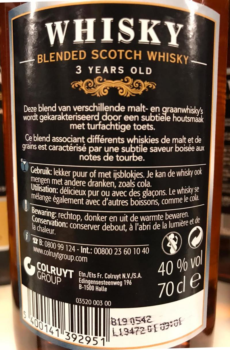 Whisky 03-year-old