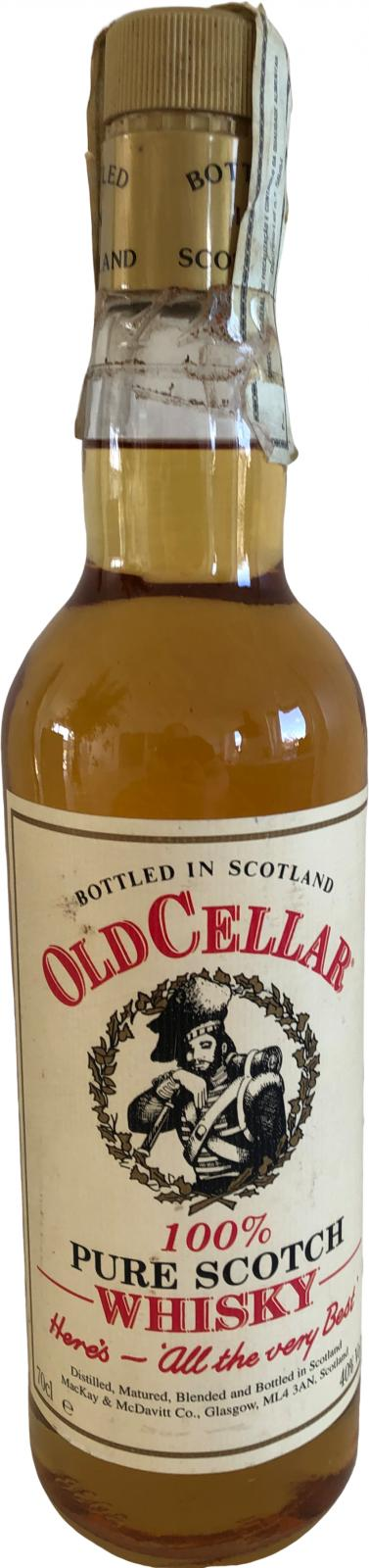 Old Cellar 100% Pure Scotch Whisky