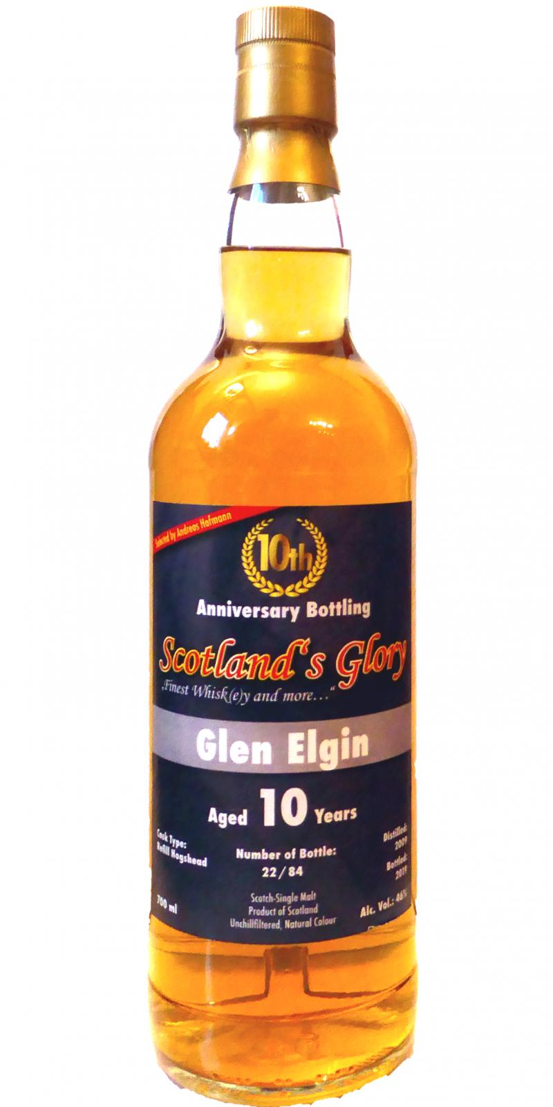 Glen Elgin 2009 SG