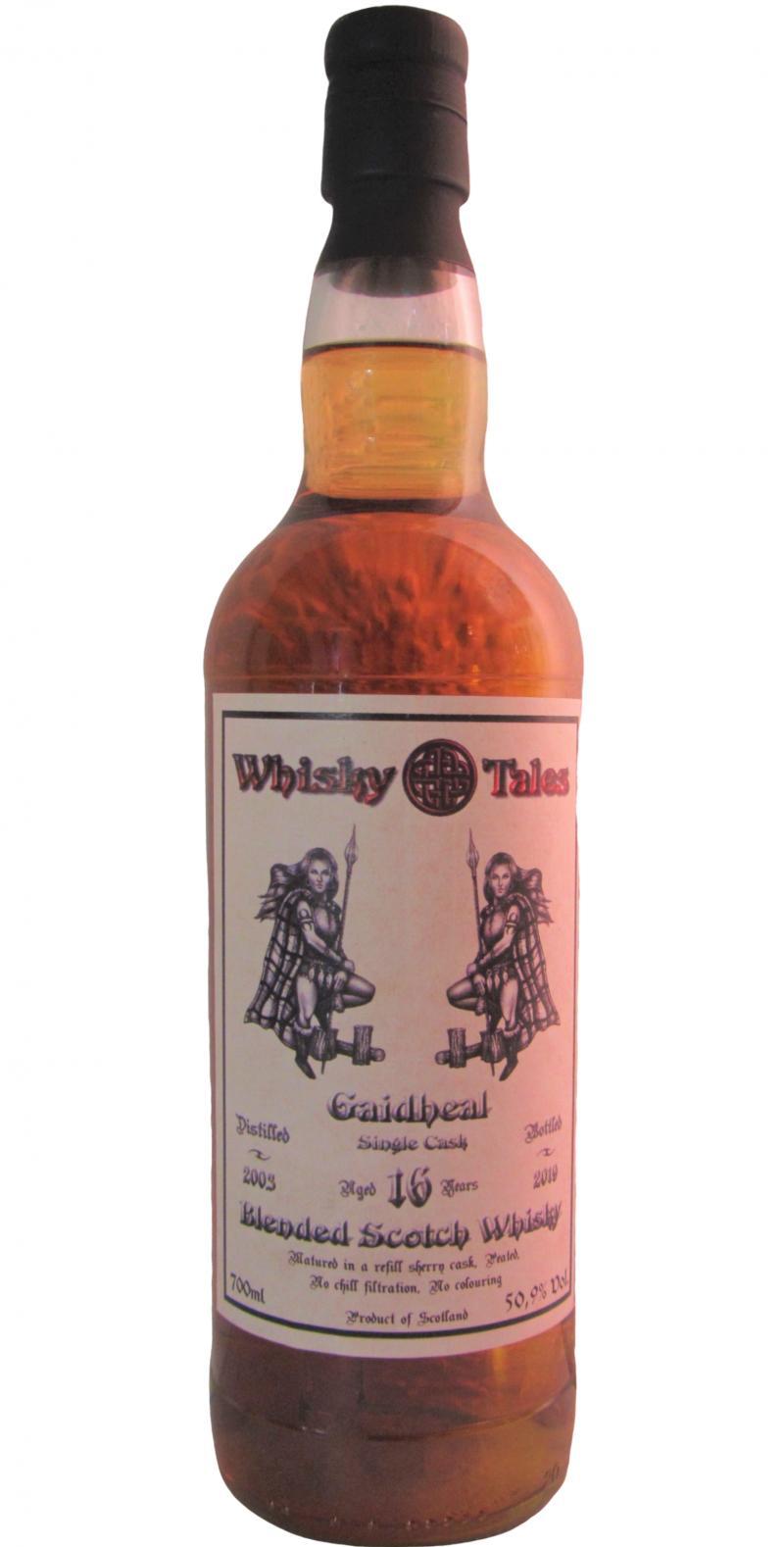 Blended Scotch Whisky 2003 WT