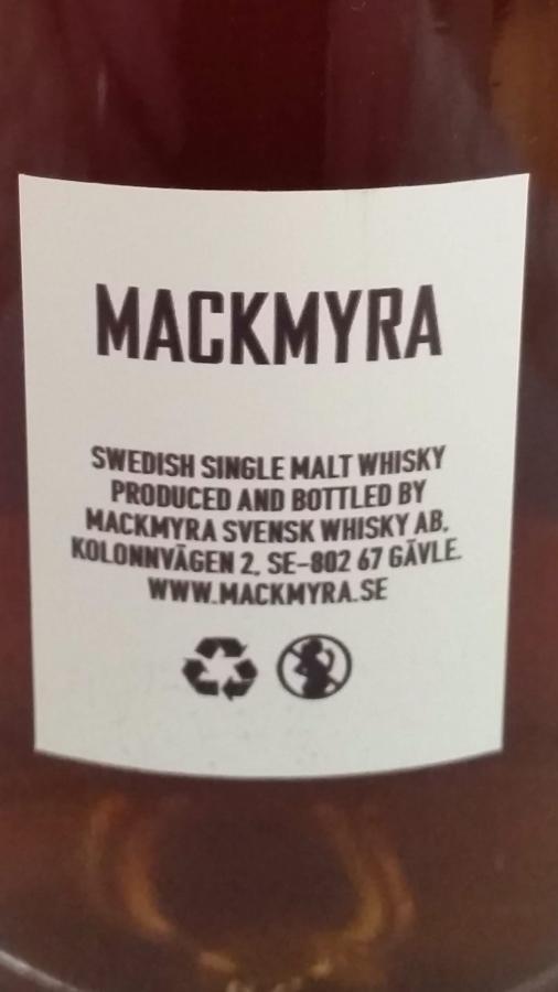 Mackmyra Cherry Cask Finish