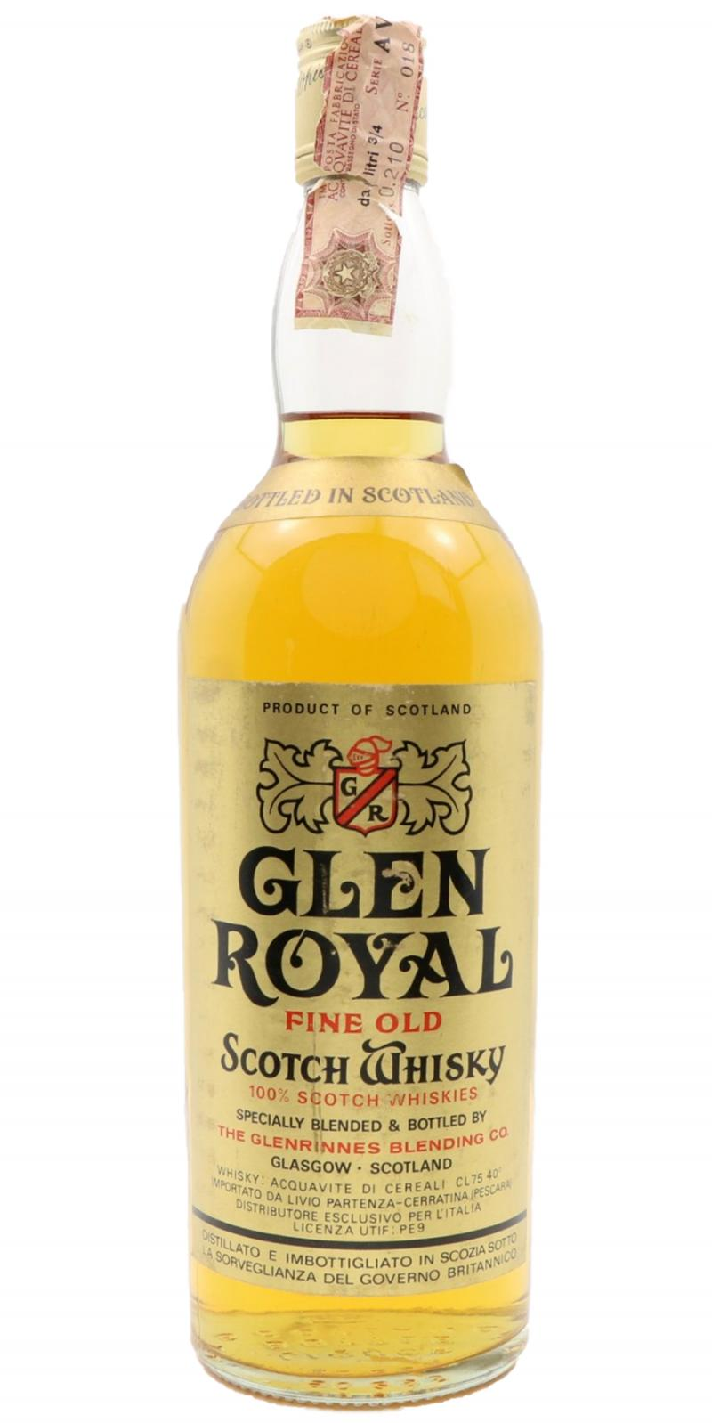 Glen Royal Fine Old Scotch Whisky