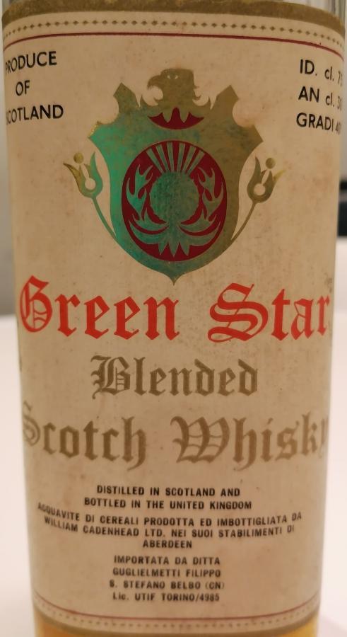 Cadenheads Green Star