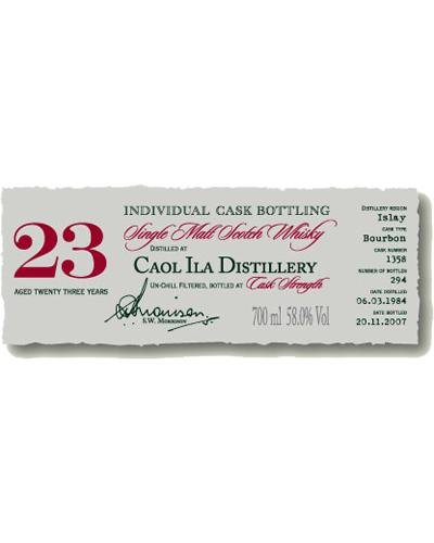 Caol Ila 1984 DR