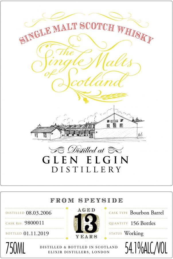 Glen Elgin 13-year-old ElD