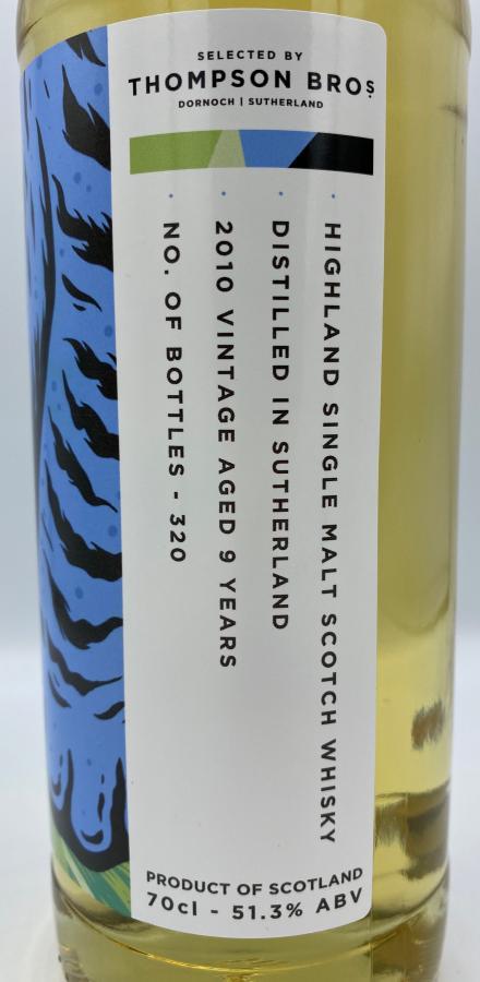 Distilled in Sutherland 2010 PST