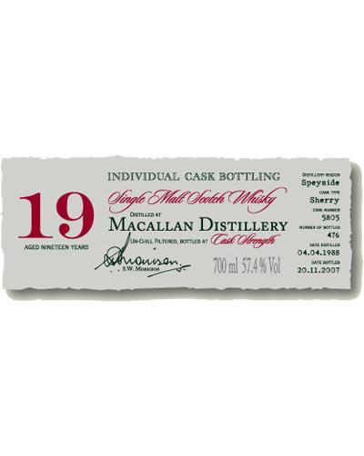 Macallan 1988 DR