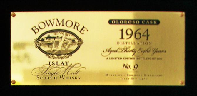 Bowmore 1964 Oloroso
