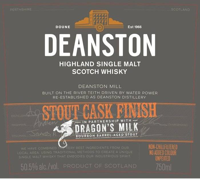 Deanston Dragon's Milk