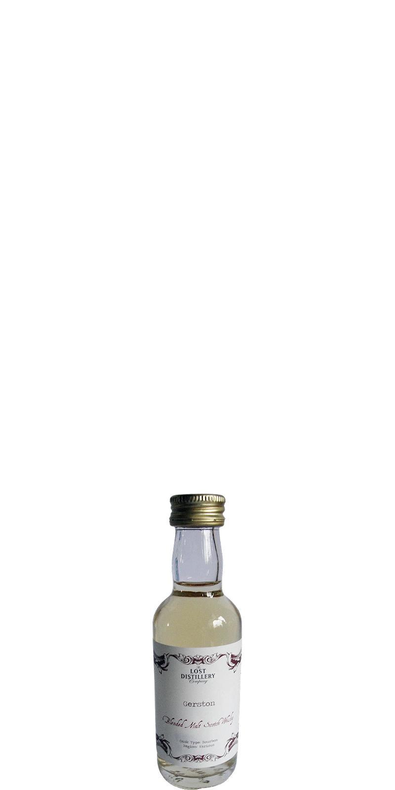 Gerston Blended  Malt Scotch Whisky