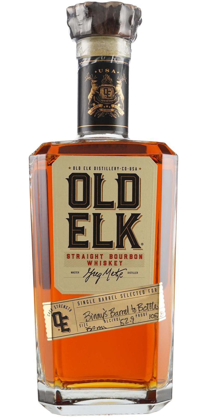 Old Elk Straight Bourbon Whiskey