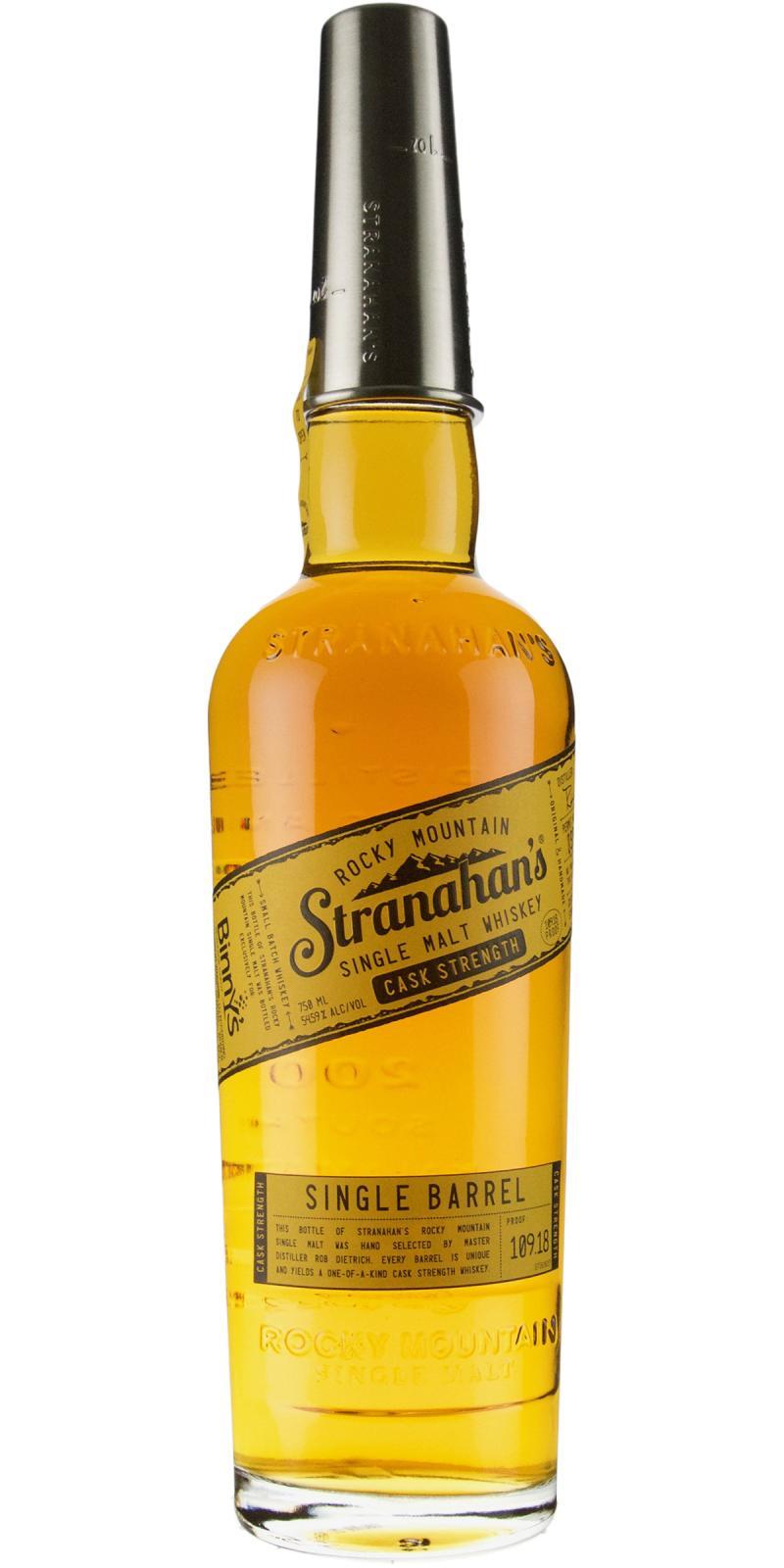 Stranahan's Straight Colorado Whiskey