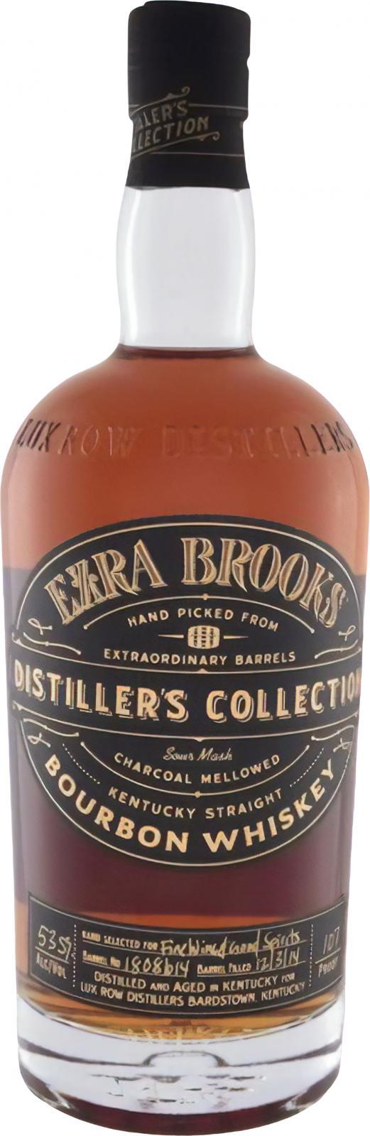Ezra Brooks Distiller's collection