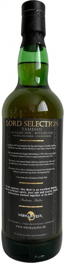 Tamdhu 2006 Whk