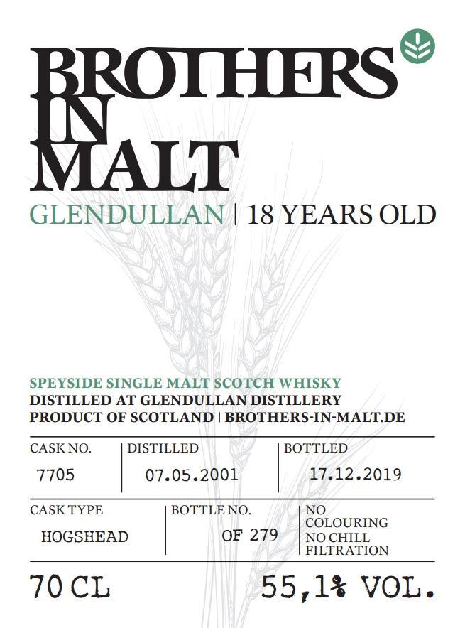 Glendullan 2001 BiM