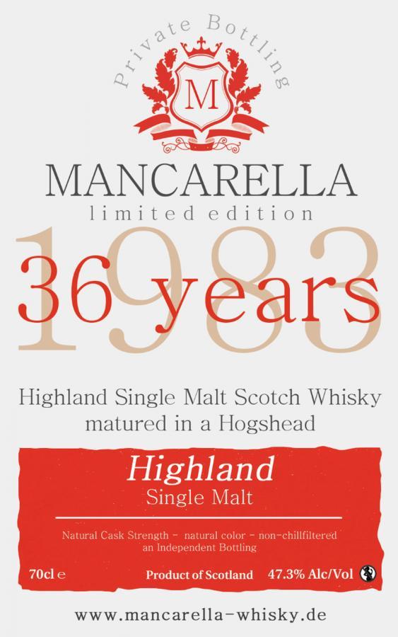 Highland Single Malt 1983 Ma
