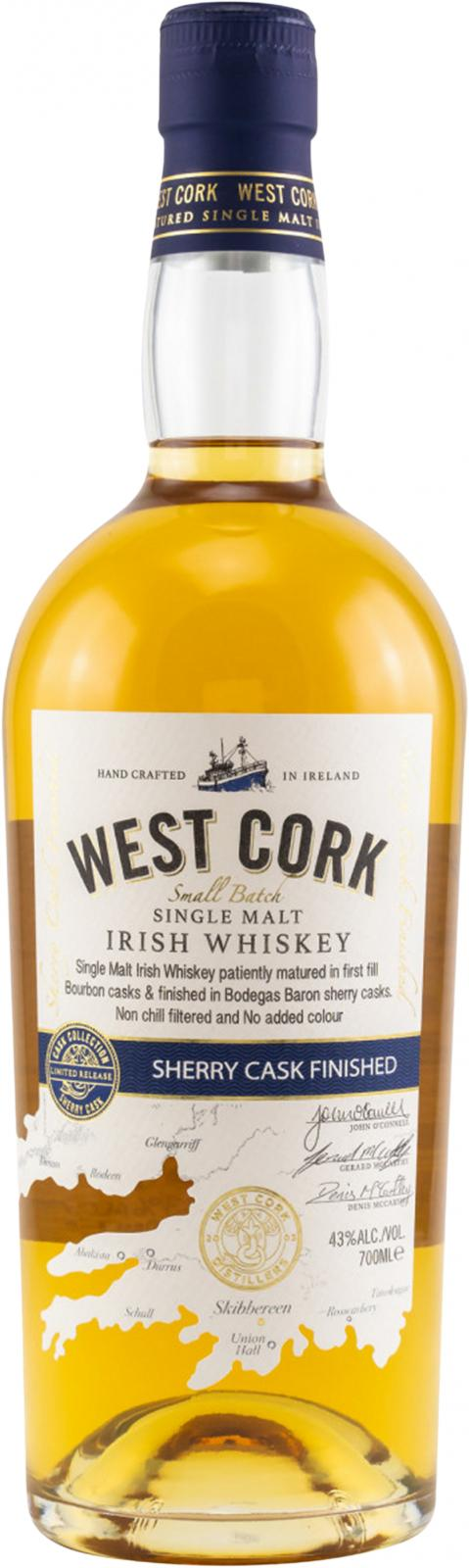 West Cork Sherry Cask Finished