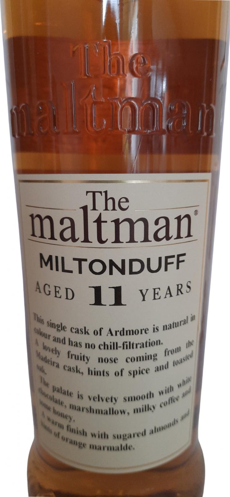 Miltonduff 2008 MBl