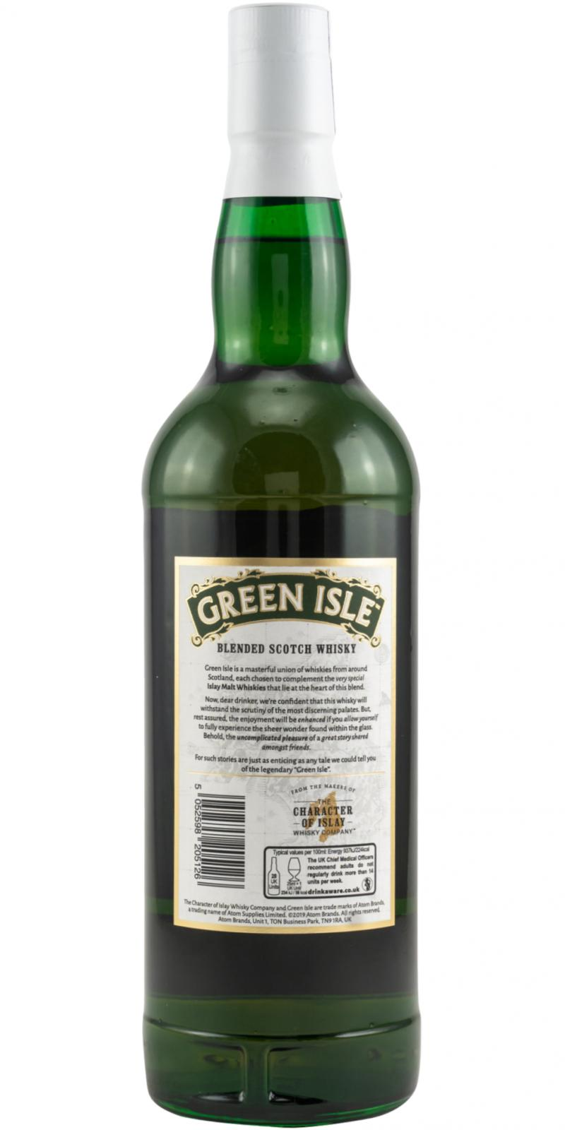 Blended Scotch Whisky Green Isle TCIWC