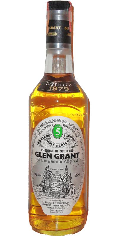 Glen Grant 1979