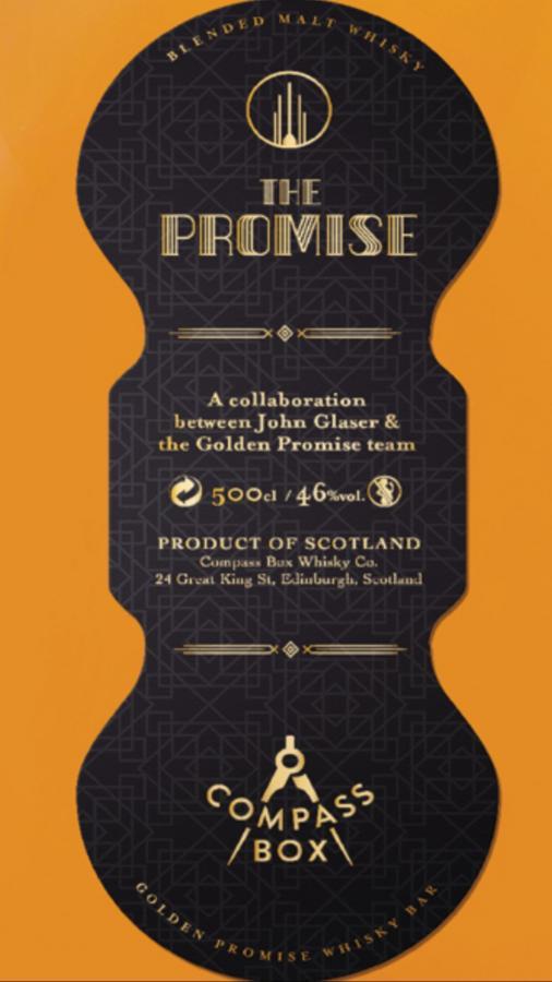 Blended Malt Whisky The Promise Blend CB