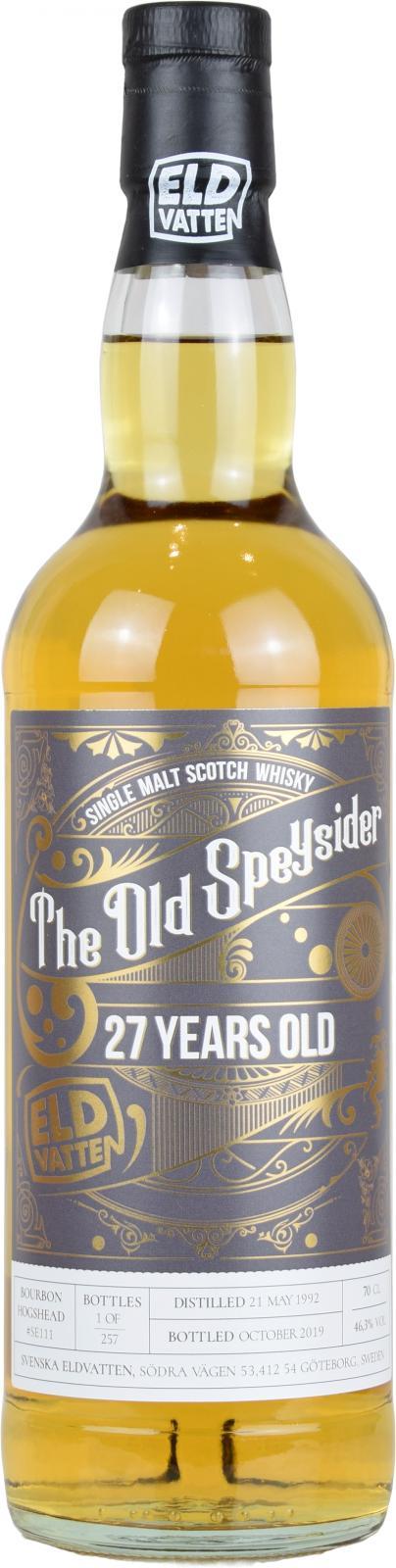 The Old Speysider 1992 SE