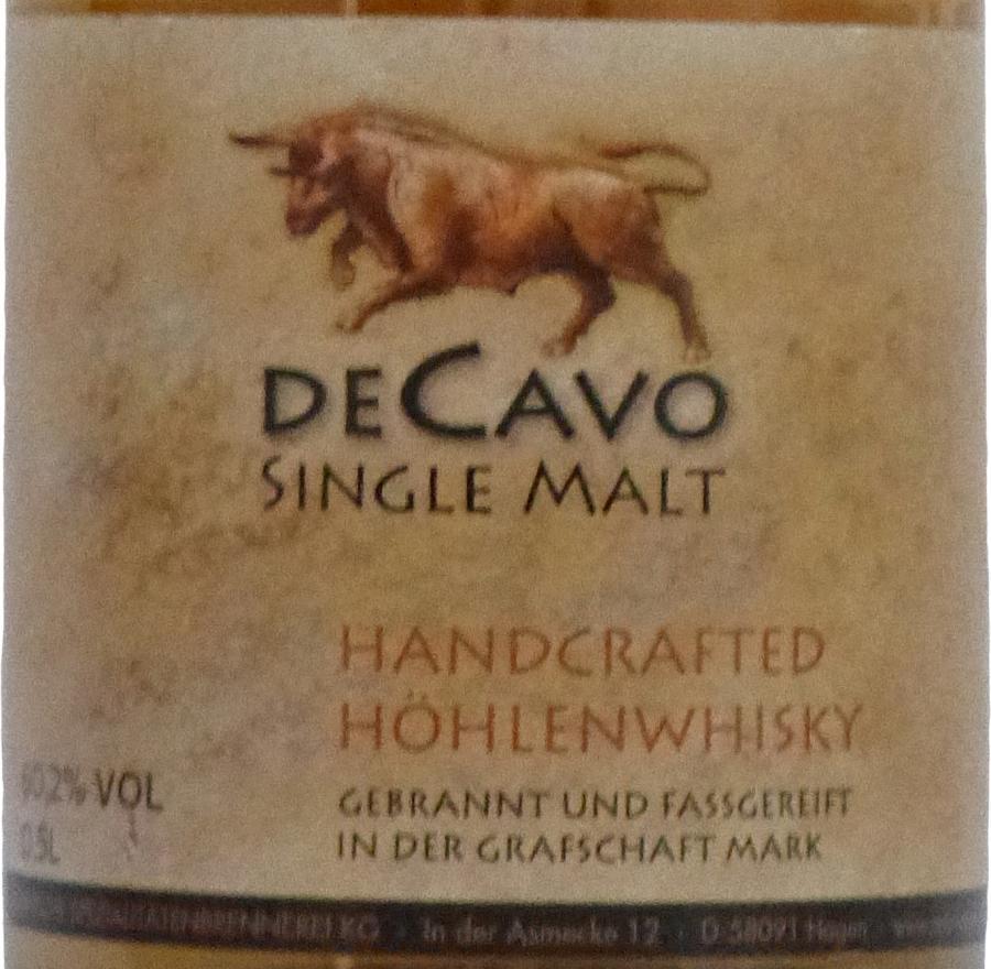 Märkische Spezialitätenbrennerei 2014 De Cavo