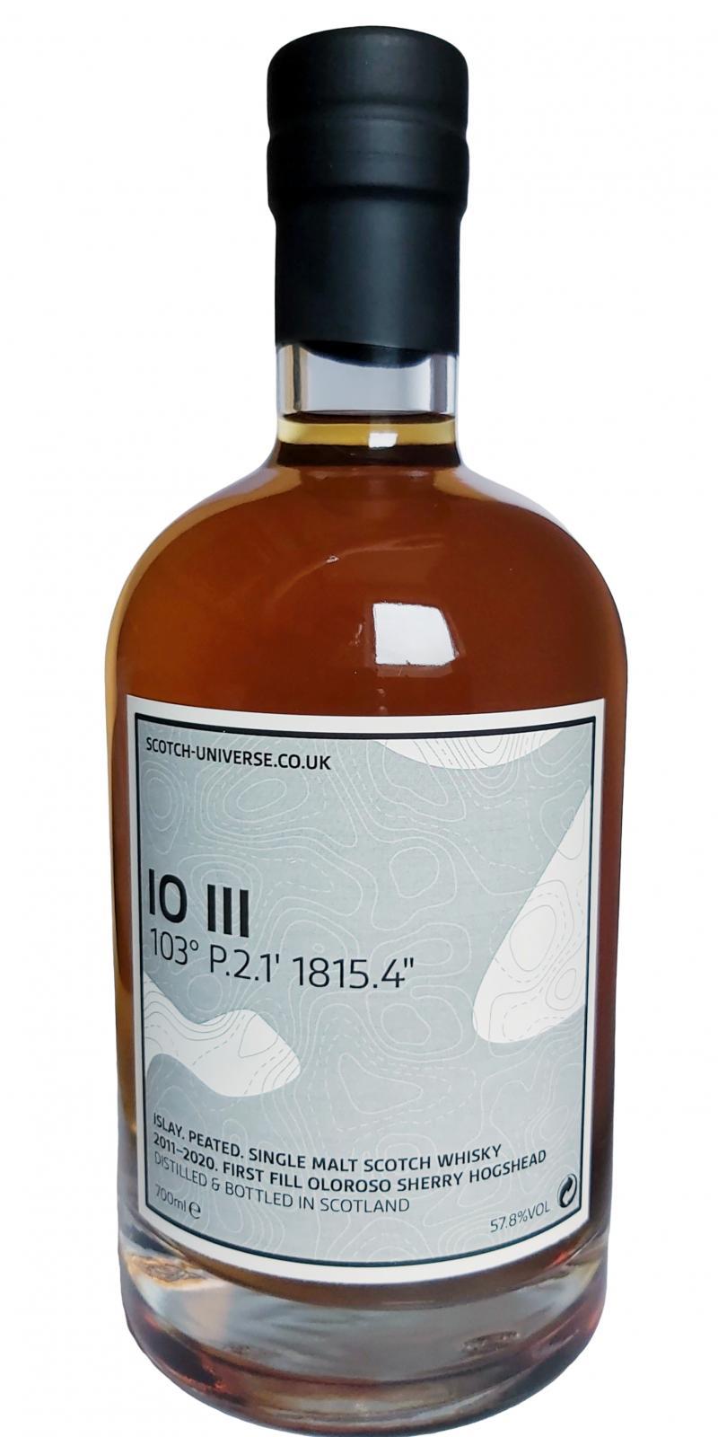 """Scotch Universe IO III - 103° P.2.1' 1815.4"""""""