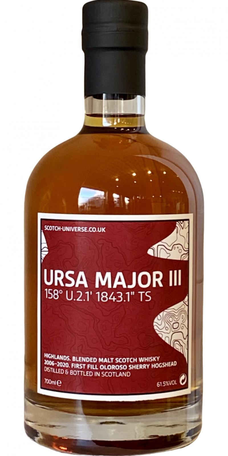 "Scotch Universe Ursa Major III - 158° U.2.1 1843.1"" TS"
