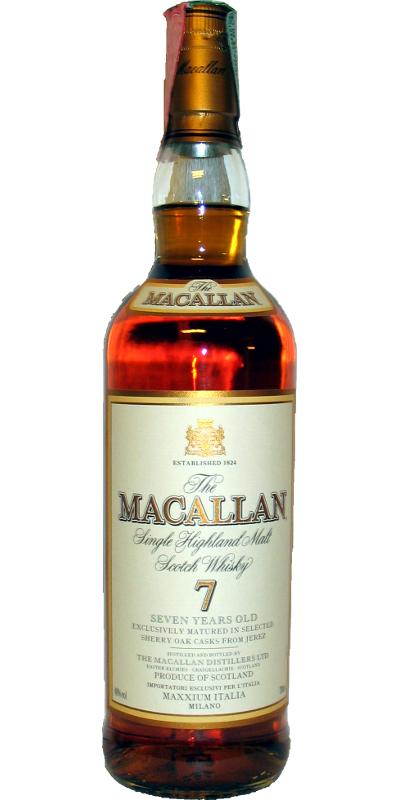 Macallan 07-year-old
