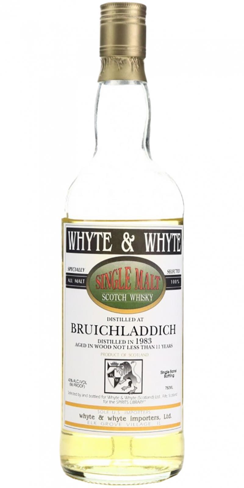 Bruichladdich 1983 W&W