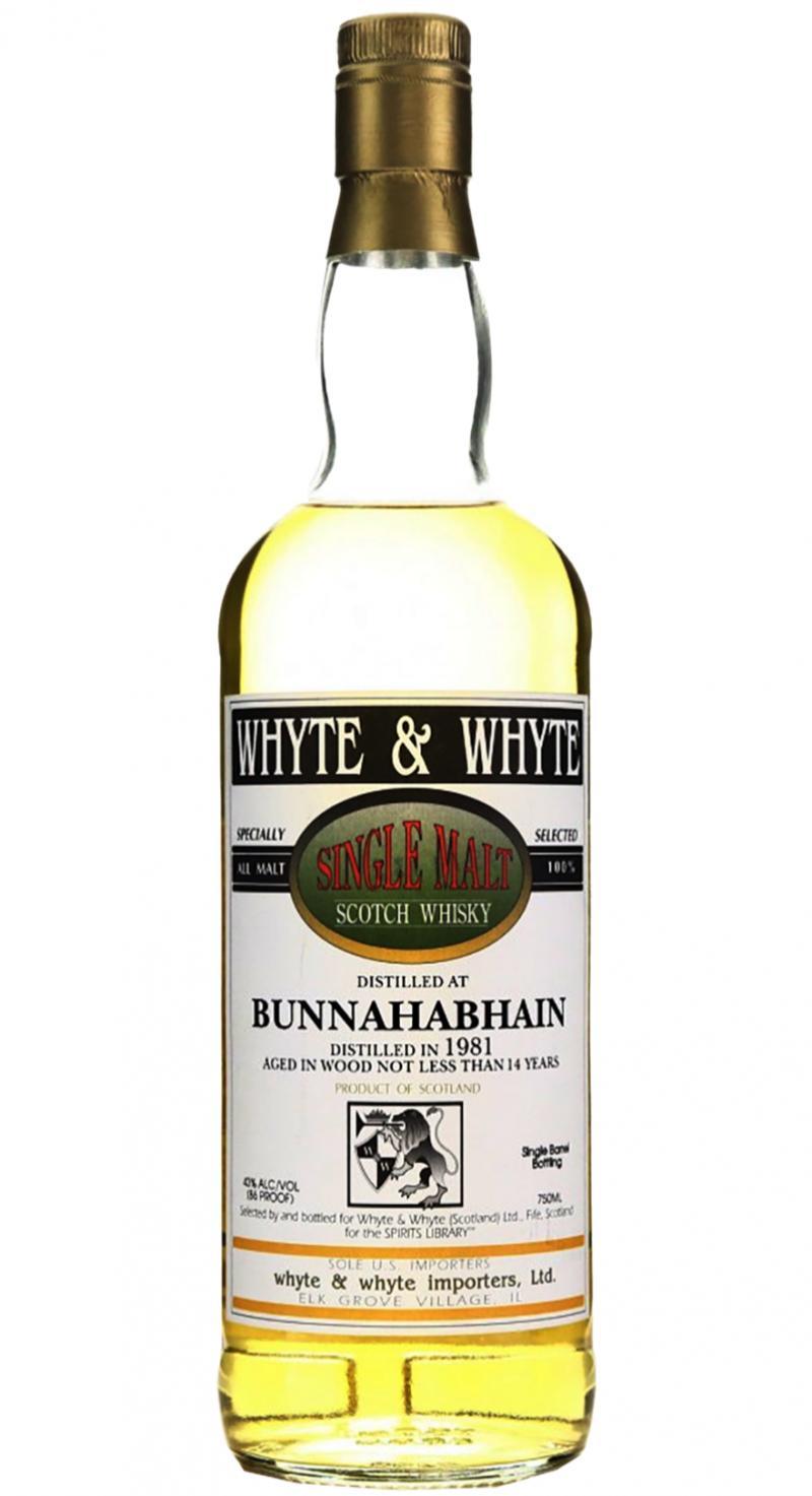 Bunnahabhain 1981 W&W