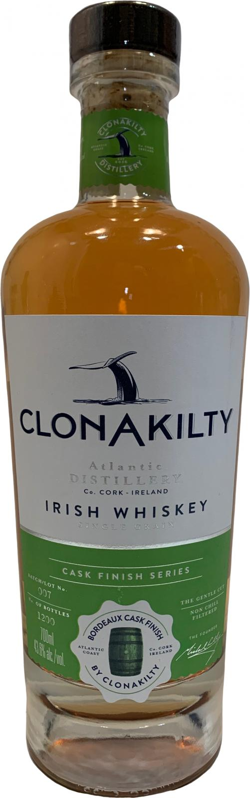Clonakilty Bordeaux Cask Finish