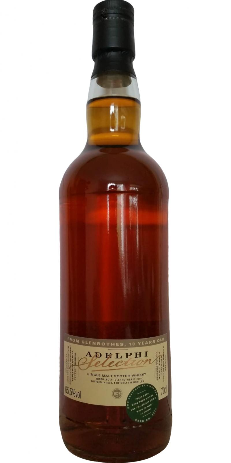 Glenrothes 2009 AD