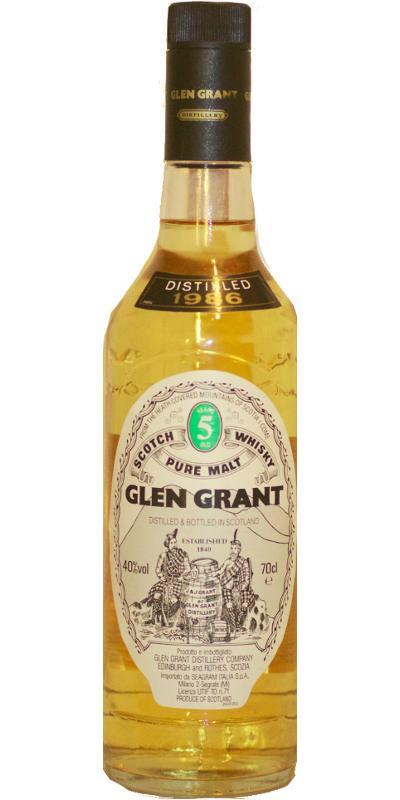 Glen Grant 1986