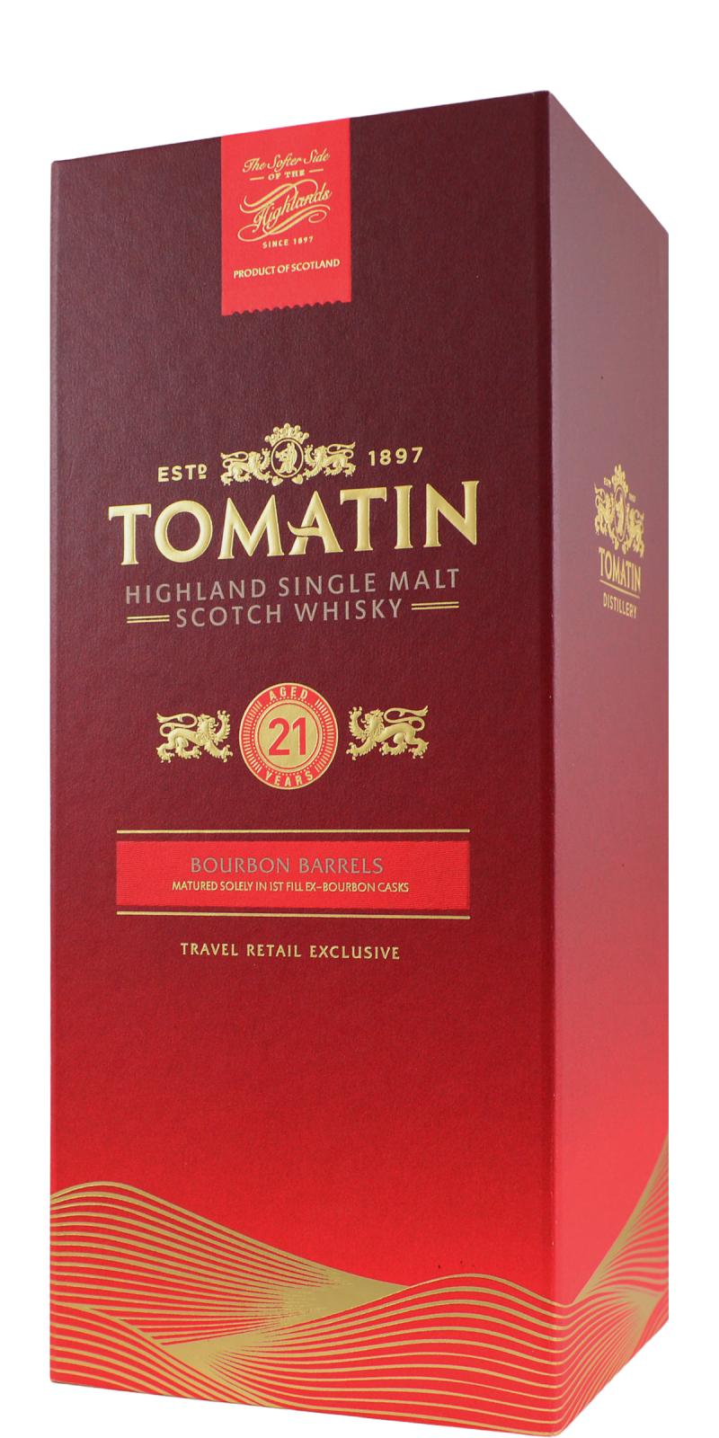 Tomatin 21-year-old