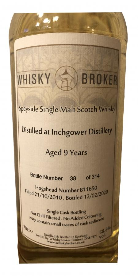 Inchgower 09-year-old WhB