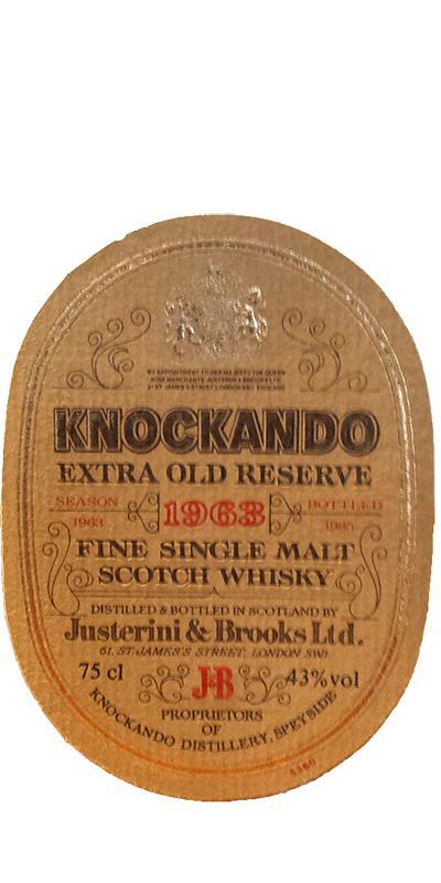 Knockando 1963