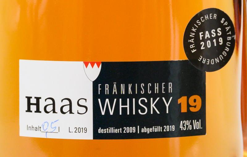Haas Fränkischer Whisky 19