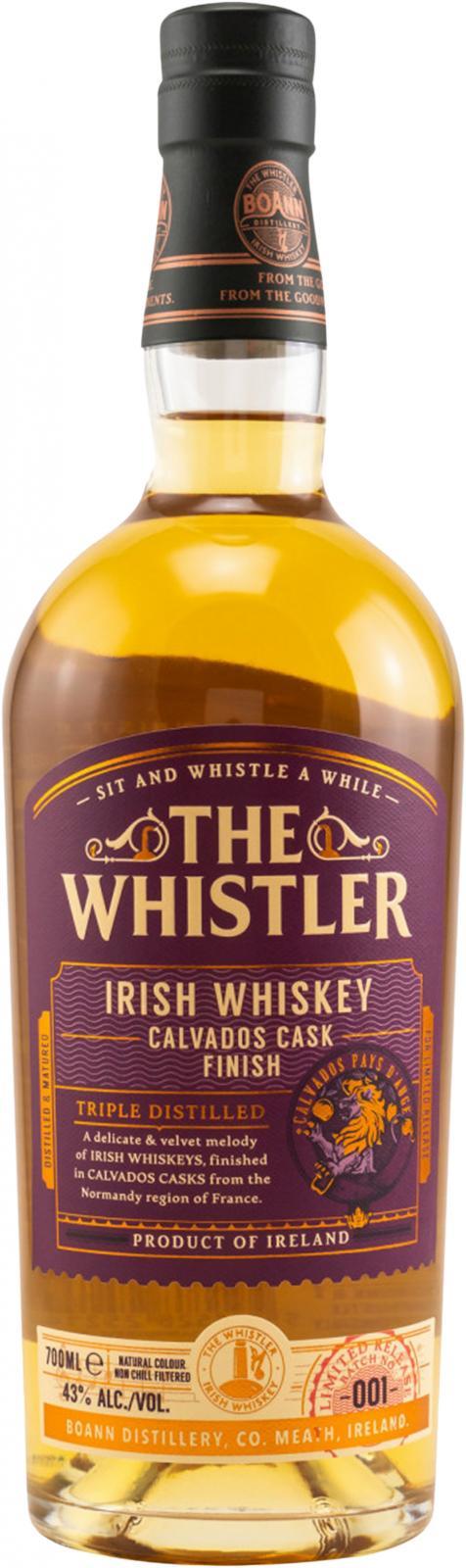 The Whistler Calvados Cask Finish BoD