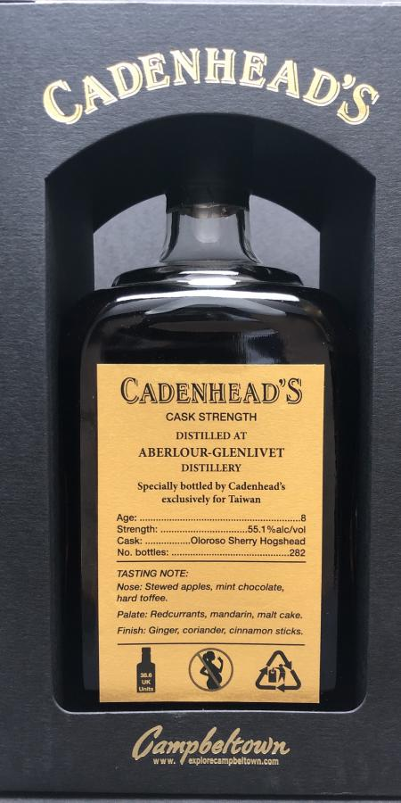 Aberlour 08-year-old CA