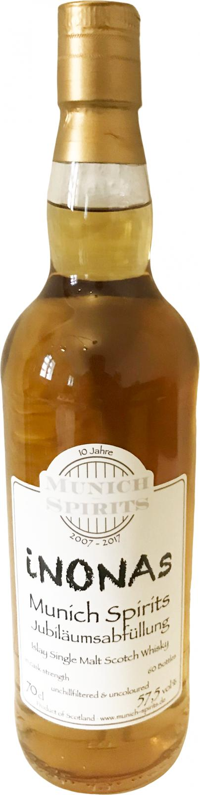 Islay Single Malt Scotch Whisky iNONAs